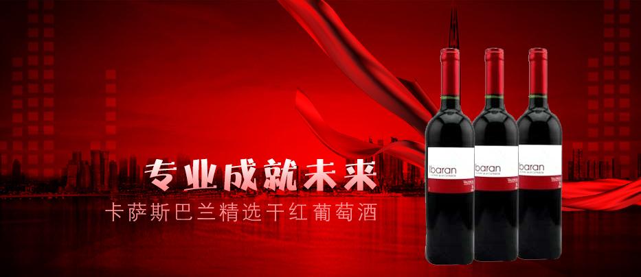 卡萨斯巴兰精选干红葡萄酒