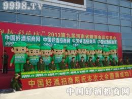 中国好酒招商网奋战2013第九届河南糖酒会
