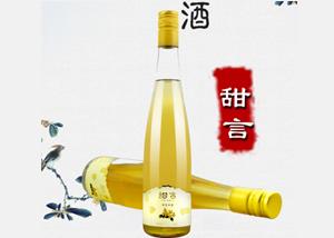 甜言桂花米酒古法手酿轻度米酒糯米酒