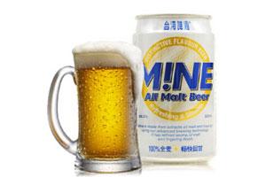 台湾啤酒MINE全麦啤酒