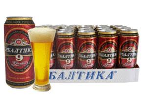 俄罗斯波罗的海浅色啤酒9号烈性