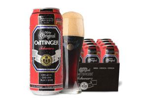 德国奥丁格纯麦黑啤酒
