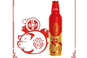 青岛啤酒鸿运当头猪年版