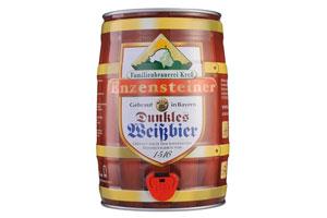 德国雪顶原浆小麦黑啤酒