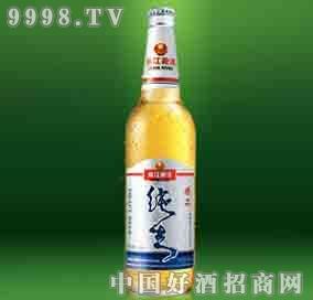 珠江精品纯生啤酒-啤酒招商信息