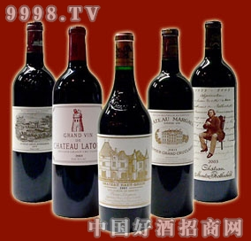 2003年法国波尔多五大名庄酒一套-红酒招商信息