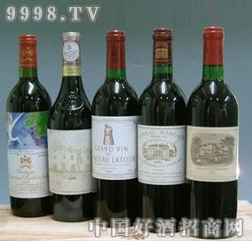 1982年法国波尔多五大名庄酒一套-红酒招商信息