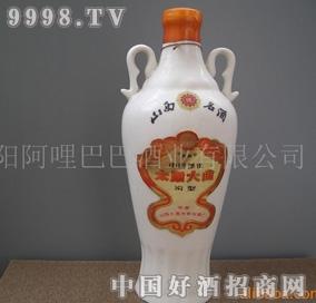 1987年生产的太原大曲陈年老窖白酒