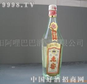 1987年生产的五粮老窖陈年老窖白酒