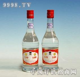 小红冠玻瓶汾酒