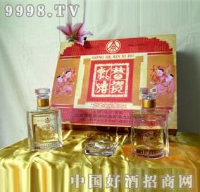 (恭贺新禧)礼盒酒