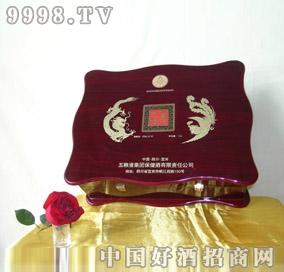 (珍品木盒)礼盒酒