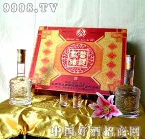 (吉祥金龙3D)礼盒酒