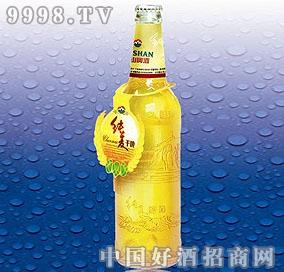 泰山纯麦啤酒