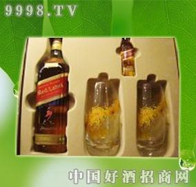 红方威士忌礼盒