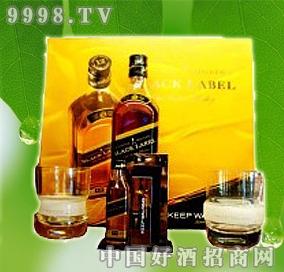 黑方威士忌礼盒