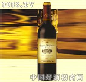 2007年塞纳河谷波尔多干红葡萄酒