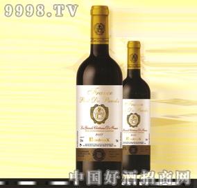 2007年雅度庄波尔多干红葡萄酒