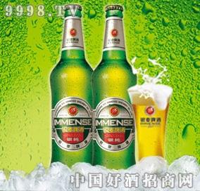 银麦银纯啤酒