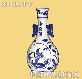 白瓷瓶善好酒