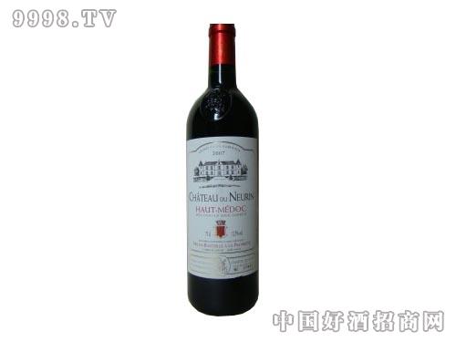 吉娜斯诺林古堡美铎高地法定产区红葡萄酒