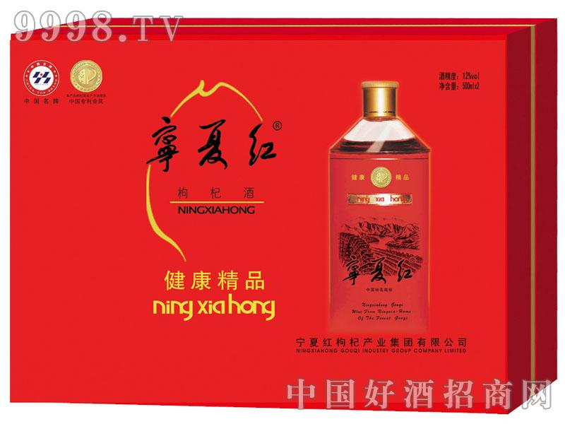 宁夏红12°1000ml健康精品礼盒