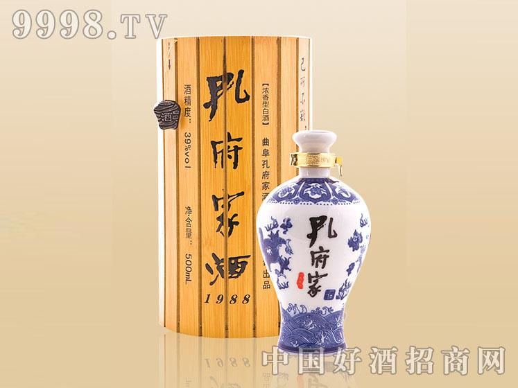 孔府家酒39°竹简青花瓷500ML