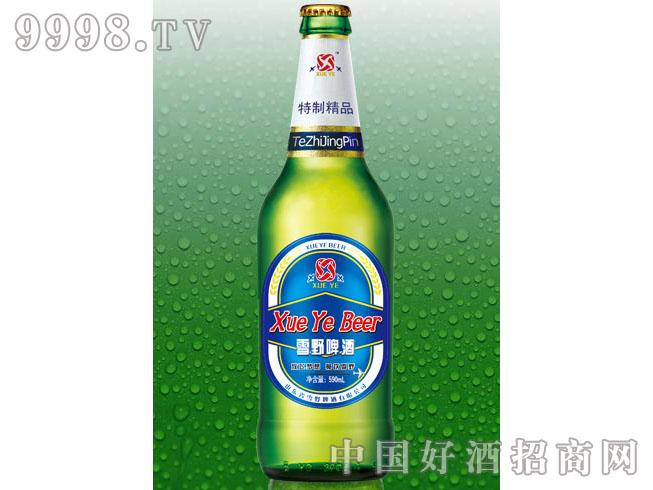 雪野特制啤酒(蓝瓶)