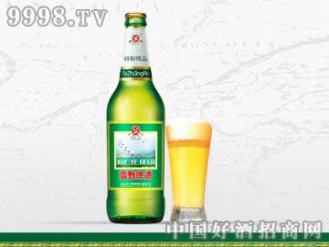 雪野特制啤酒(绿瓶)
