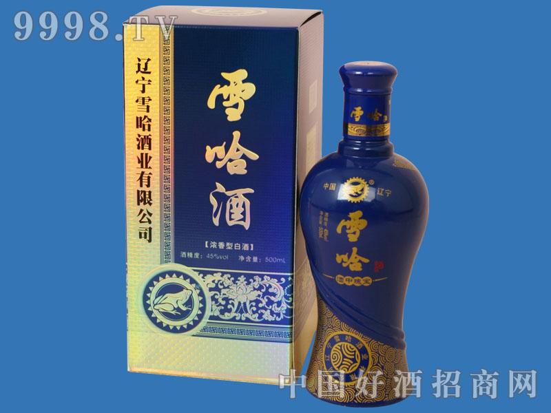 蓝瓶雪哈酒