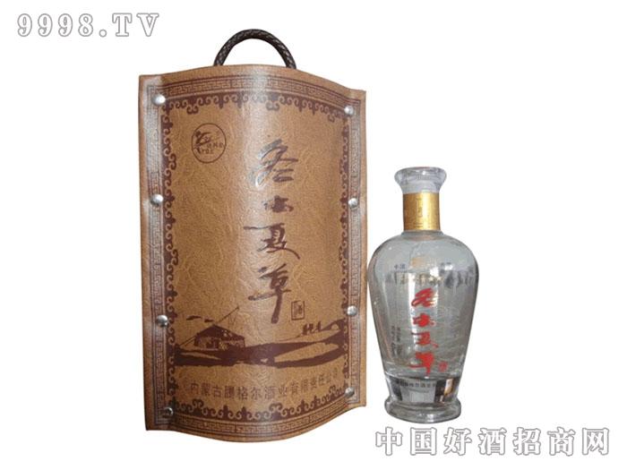 冬虫夏草酒・手提皮盒