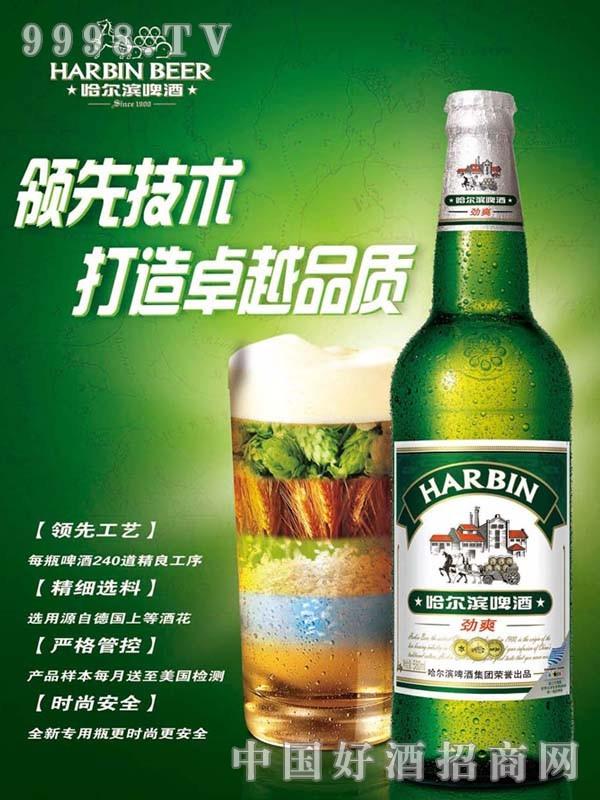 哈尔滨啤酒-劲爽