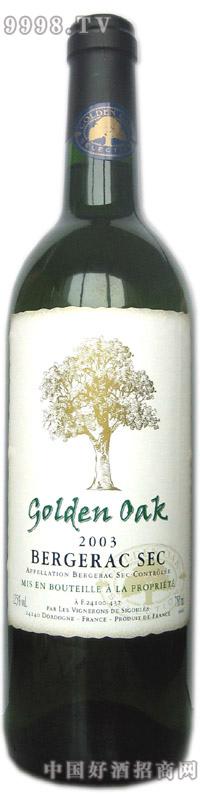 金橡树贝杰哈克干白葡萄酒