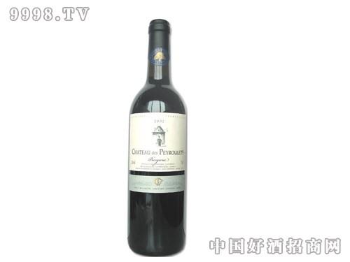 金橡树佩如莱城堡干红葡萄酒