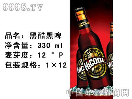 黑酷黑啤(瓶装)