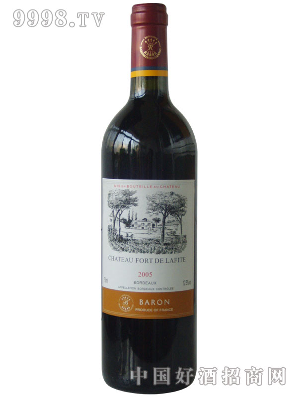 拉菲葡萄酒2005