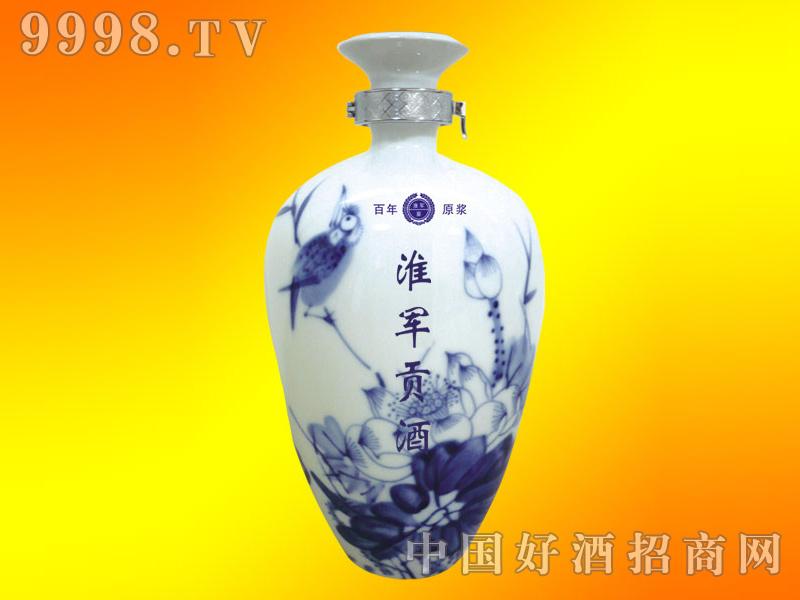 淮军贡酒青花国瓷瓶装