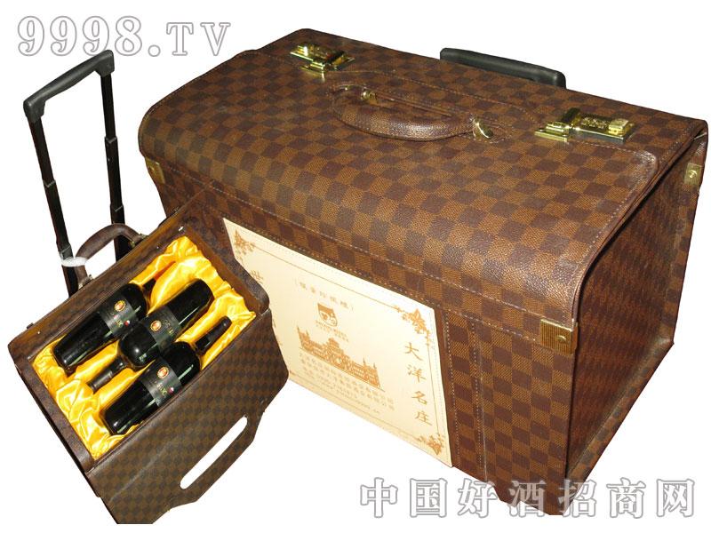 六支旅行便携式葡萄酒箱