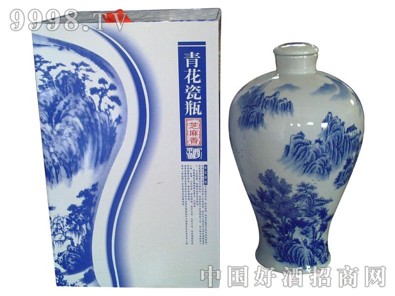 青花瓷瓶(芝麻香)