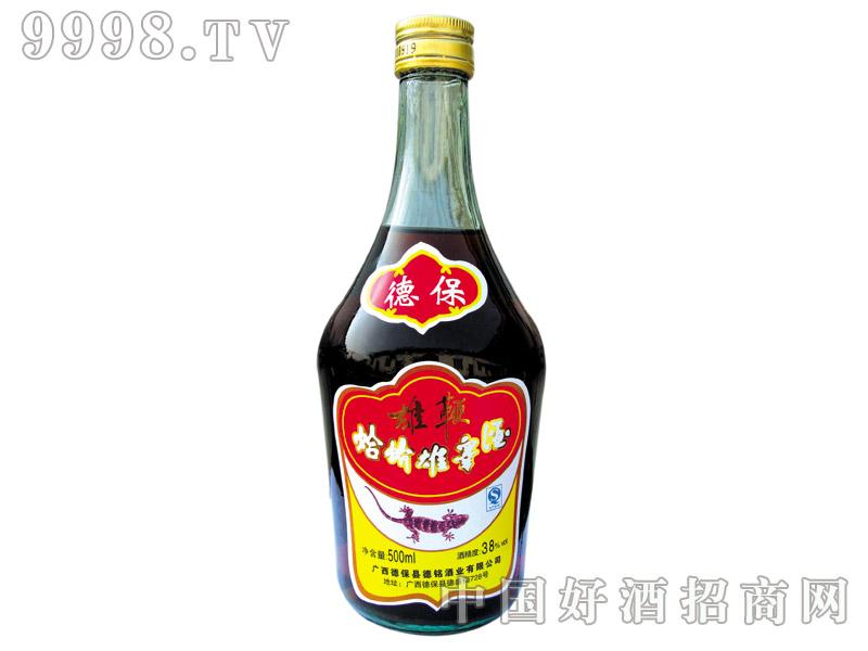 雄鞭蛤蚧雄睾酒