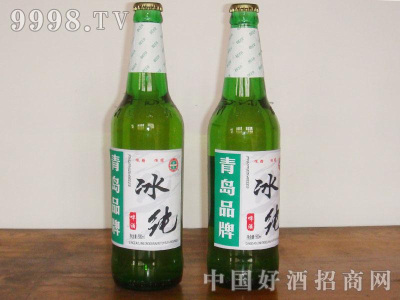 青岛冰纯啤酒