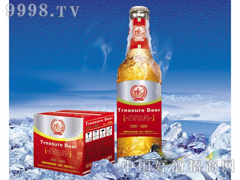 美国蓝带啤酒冰封珍品
