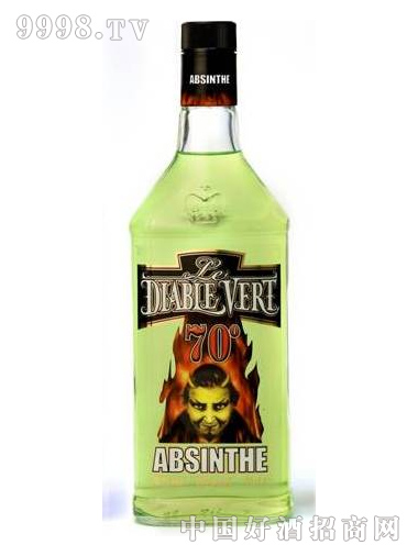 绿色精灵苦艾酒