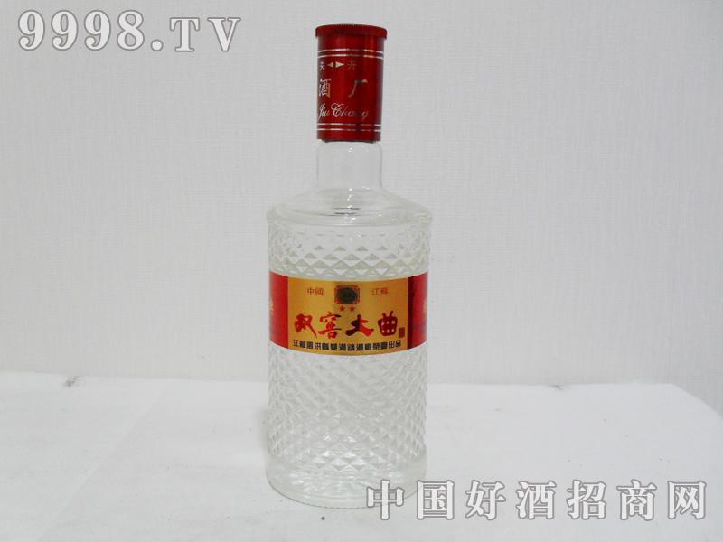 46%vol双窖大曲酒500mlx12瓶