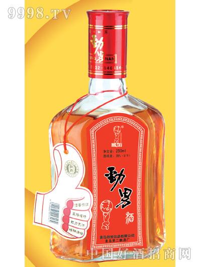 250ml扁瓶劲男