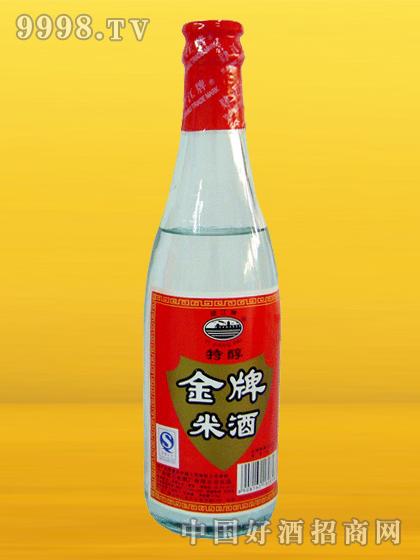 肄江牌金牌米酒310ml