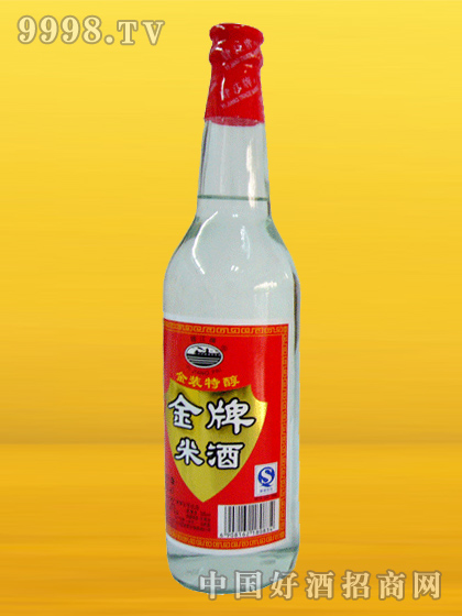 肄江牌金牌米酒620ml