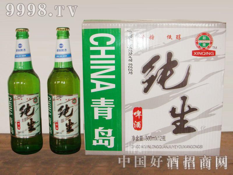纯生啤酒500毫升