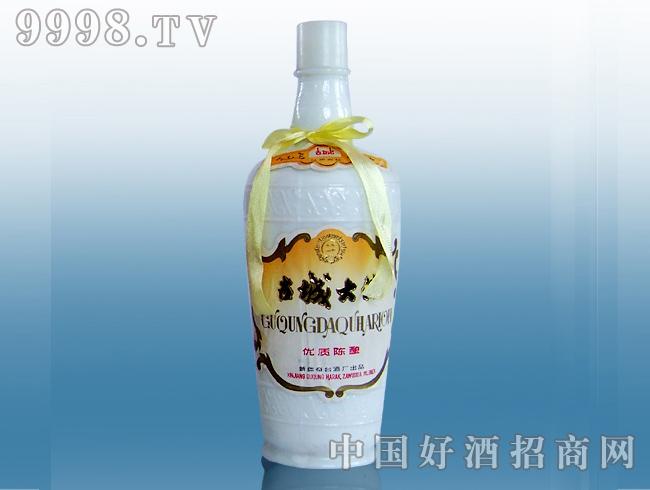 56度古城大曲酒瓶
