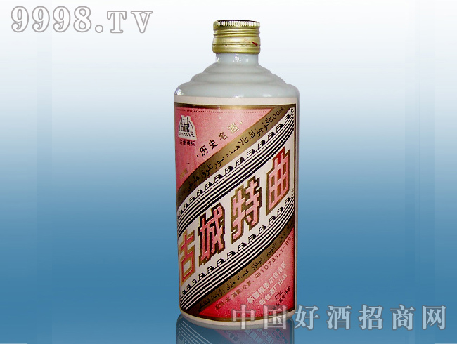 45度茅瓶古城特曲酒瓶